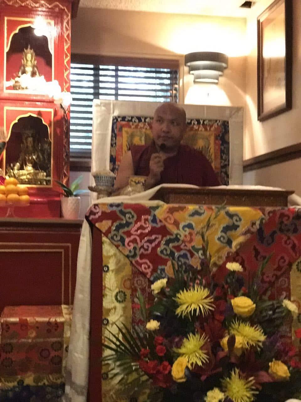HH 17th Karmapa at KTL